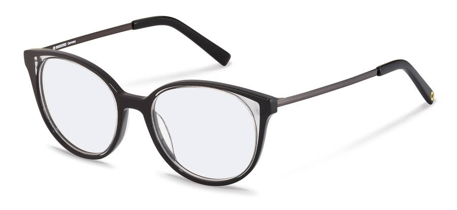 Rodenstock Capsule Collection-Dioptrické okuliare-RR462-black/lightgrey/darkgun