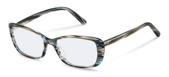 Rodenstock-Dioptrické okuliare-R5332-bluebrownstructured