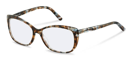 Rodenstock-Dioptrické okuliare-R5333-bluebrownstructured
