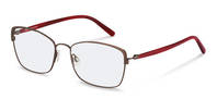 Rodenstock-Dioptrické okuliare-R7087-bordeaux/redstructured