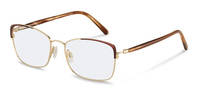 Rodenstock-Dioptrické okuliare-R7087-lightgold/brownstructured