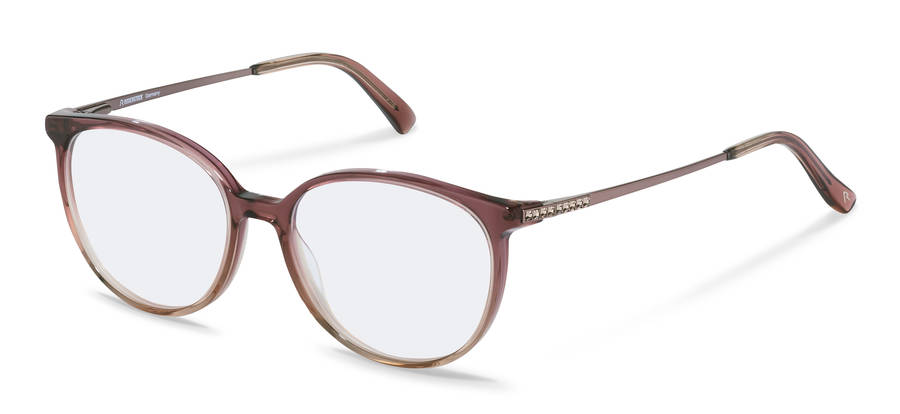 Rodenstock-Dioptrické okuliare-R8027-bordeauxbeigegradient/rosegold