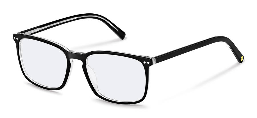 Rodenstock Capsule Collection-Dioptrické okuliare-RR448-blackcrystallayered