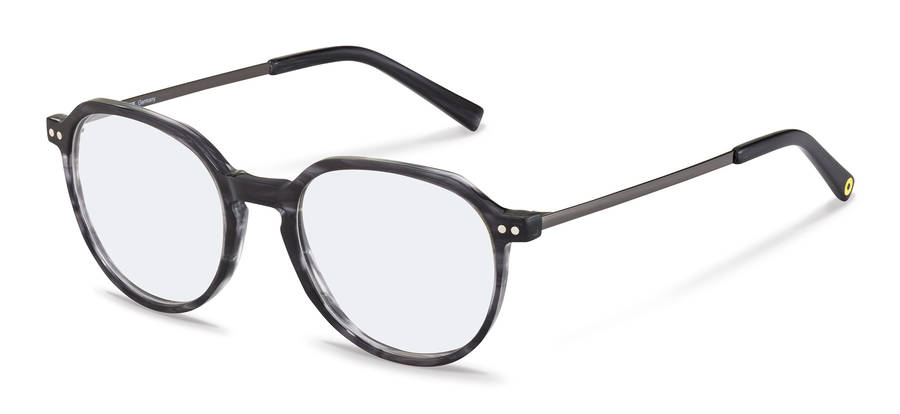 Rodenstock Capsule Collection-Dioptrické okuliare-RR461-darkgreystructured/darkgun