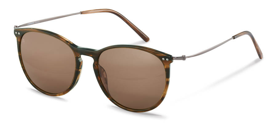 Rodenstock-Dioptrické okuliare-R3312-brownstructured/gunmetal