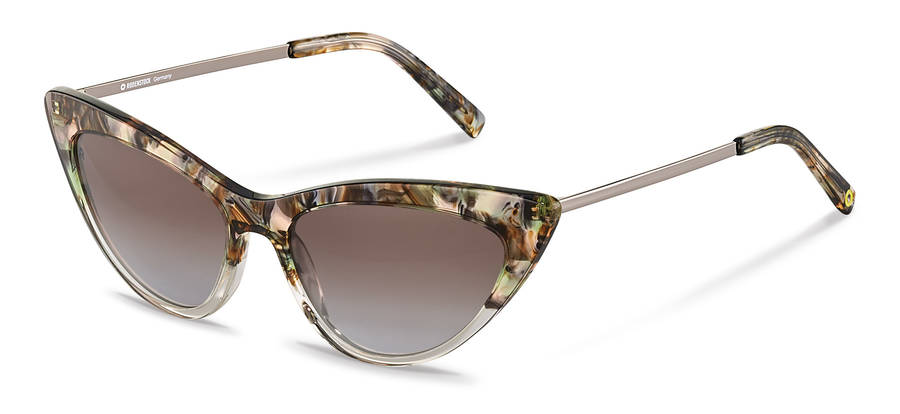 Rodenstock Capsule Collection-Slnečné okuliare-RR336-greenrosestructured/darkgun